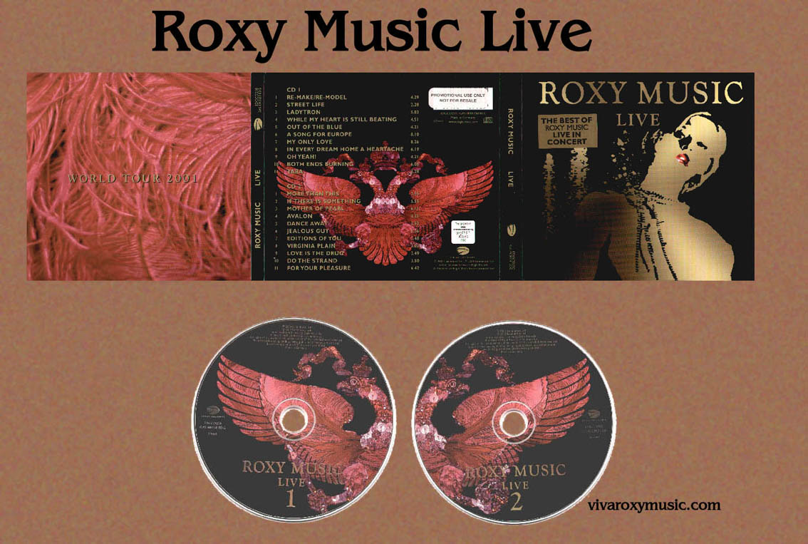 Roxy Music - Albums - on VivaRoxyMusic com